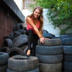 Heiko Maas beim Reifenwechsel in New York